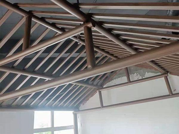 钢结构木纹漆施工