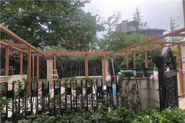 安徽合肥庐阳区馨园1号色施工现场,这个颜色搭配真的爱了